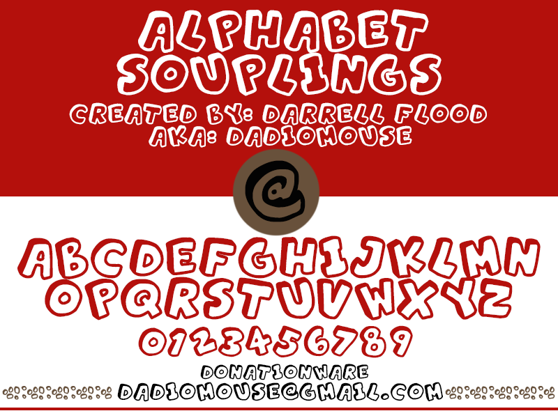 Alphabet Souplings