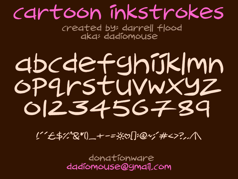Cartoon Inkstrokes