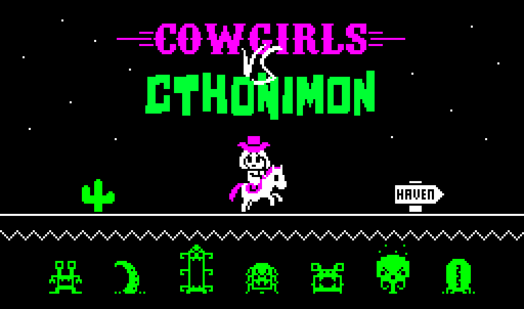 Cowgirls Vs Cthonimon